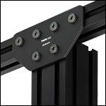 Gusset Plate for Construction Rails