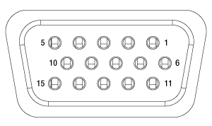 15 Pin IO