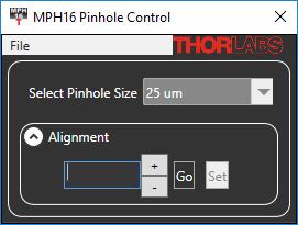 MCM3000 Software Screenshot