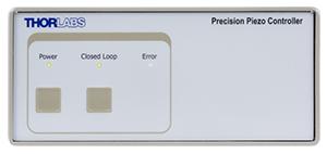 PPC001 Piezo Controller Front Panel