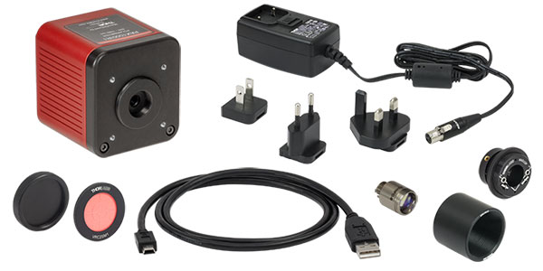 PAX1000IR Polarimeter Included Components