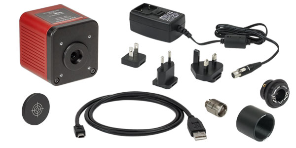 PAX1000VIS Polarimeter Included Components