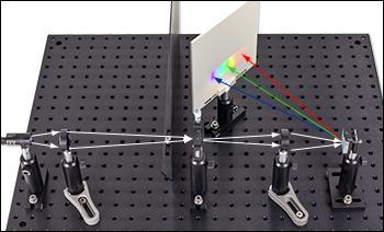 Grating-Based Spectrometer Setup