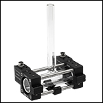Ø25mm Glass Cell in Heater Assembly
