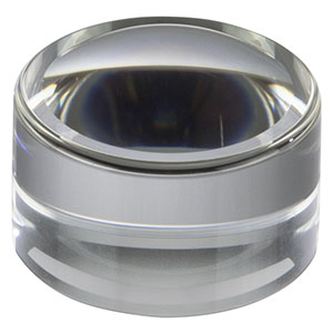 352110-A - f = 6.24 mm, NA = 0.4, Unmounted Geltech Aspheric Lens, AR: 400-600 nm