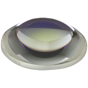 AL4532-B - Ø45 mm S-LAH64 Aspheric Lens, f=32 mm, NA=0.61, ARC: 650-1050 nm