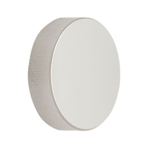 CM254-050-P01 - Ø1in Silver-Coated Concave Mirror, f = 50.0 mm