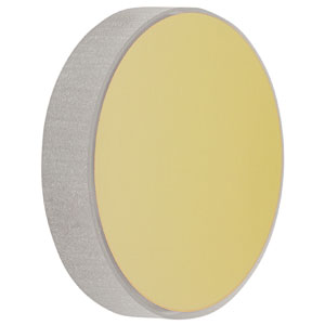 CM508-150-M01 - Ø2in Gold-Coated Concave Mirror, f = 150.0 mm