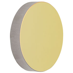 CM750-150-M01 - Ø75 mm Gold-Coated Concave Mirror, f = 150.0 mm