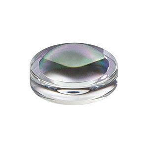 352280-C - f = 18.4 mm, NA = 0.15, Unmounted Geltech Aspheric Lens, AR: 1050-1620 nm