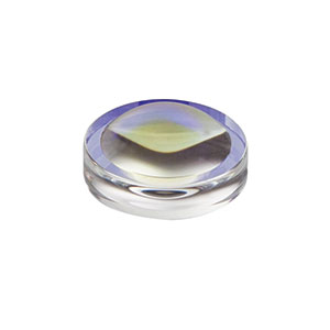 352330-B - f = 3.1 mm, NA = 0.68, Unmounted Geltech Aspheric Lens, AR: 600-1050 nm