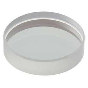 BB1-E02P - Ø1in Back Side Polished, Broadband Dielectric Mirror, 400 - 750 nm
