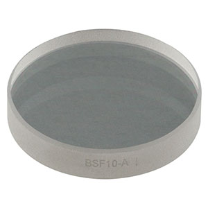 BSF10-A - Ø1in UVFS Beam Sampler for Beam Pick-Off, ARC: 350-700 nm, 5 mm Thick