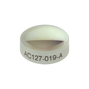 AC127-019-A - f = 19.0 mm, Ø1/2in Achromatic Doublet, ARC: 400 - 700 nm