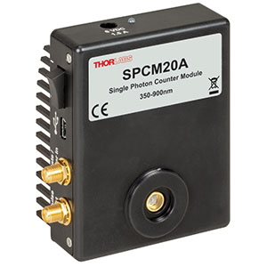 SPCM20A - Single Photon Counter Module, 350 - 900 nm, Ø20 µm Active Area, 8-32 Tap