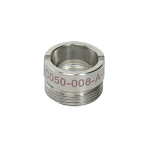 AC050-008-A-ML - f=7.5 mm, Ø5 mm Achromatic Doublet, M9x0.5 Threaded Mount,  ARC: 400-700 nm