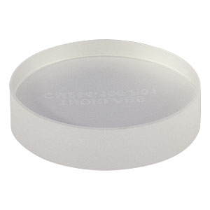"CM254-100-E01 - Ø1"" Dielectric-Coated Concave Mirror, 350 - 400 nm, f = 100 mm"