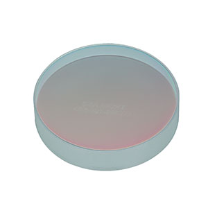 CM508-050-E03 - Ø2in Dielectric-Coated Concave Mirror, 750 - 1100 nm, f = 50 mm