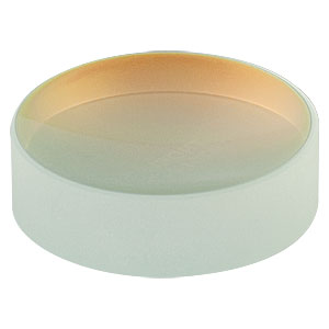 CM254-025-E04 - Ø1in Dielectric-Coated Concave Mirror, 1280 - 1600 nm, f = 25 mm