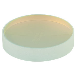 CM508-100-E04 - Ø2in Dielectric-Coated Concave Mirror, 1280 - 1600 nm, f = 100 mm