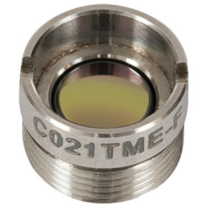 C021TME-F - f = 11.0 mm, NA = 0.18, Mounted Geltech Aspheric Lens, AR: 8 - 12 µm