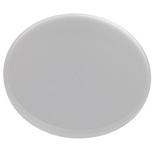 DGUV10-120 - Ø1in UV Fused Silica Ground Glass Diffuser, 120 Grit