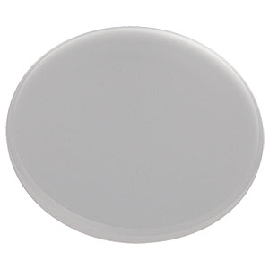 DGUV10-600 - Ø1in UV Fused Silica Ground Glass Diffuser, 600 Grit