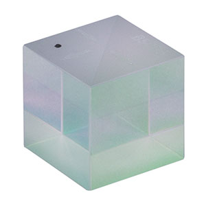 BS005 - 50:50 Non-Polarizing Beamsplitter Cube, 700 - 1100 nm, 1/2in