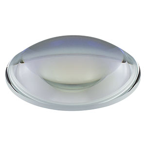 LA1238-B - N-BK7 Plano-Convex Lens, Ø75.0 mm, f = 100 mm, AR Coating: 650 - 1050 nm