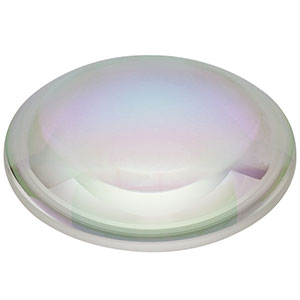 LA1238-C - N-BK7 Plano-Convex Lens, Ø75.0 mm, f = 100.0 mm, AR Coating: 1050 - 1700 nm