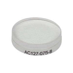 AC127-075-B - f = 75.0 mm, Ø1/2in Achromatic Doublet, ARC: 650 - 1050 nm