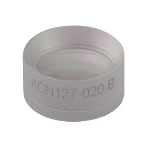 ACN127-020-B - f = -20.0 mm, Ø1/2in Achromatic Doublet, ARC: 650 - 1050 nm