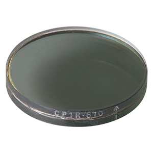 CP1R670 - Right-Handed Circular Polarizer, 670 nm