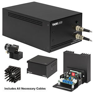 GVSM001-US/M - 1D Galvo System with Accessories and Metric Heatsink, 115 V PSU