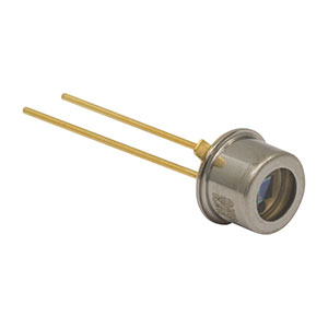 FD11A - Si Photodiode, 400 ns Rise Time, 320 - 1100 nm, 1.1 mm x 1.1 mm Active Area