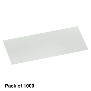 CG00K - Cover Glasses, #0 Thickness, 24 x 50 mm, Pack of 1000