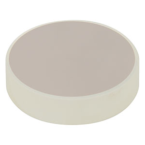 CM254-1000-E02 - Ø1in Dielectric-Coated Concave Mirror, 400 - 750 nm, f = 1000 mm