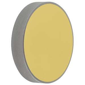 CM508-1000-M01 - Ø2in Gold-Coated Concave Mirror, f = 1000.0 mm