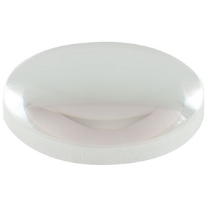 AL2550G-A - Ø25.0 mm Diffraction-Limited Aspheric Lens, f = 50.0 mm, NA = 0.20, AR Coated: 350 - 700 nm