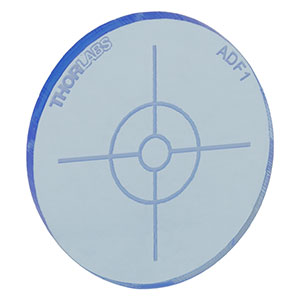ADF1 - Fluorescent Alignment Disk, Blue