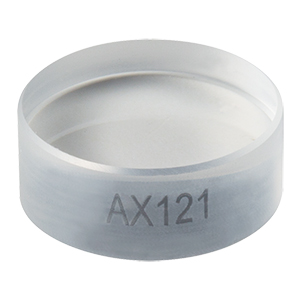 AX121 - 1.0°, Uncoated UVFS, Ø1/2in (Ø12.7 mm) Axicon