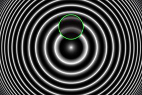 Protruding Fiber in Ferrule Interferogram